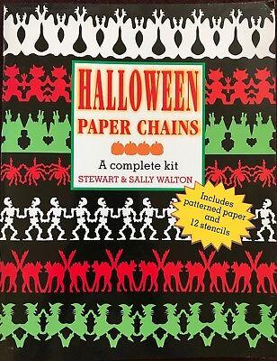Halloween Paper Chains -- Garland Stencils, Craft Projects - Halloween Paper Chain Crafts