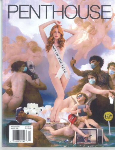 Penthouse Magazine November December 2020 Pet Of The Year Lacy Lennon