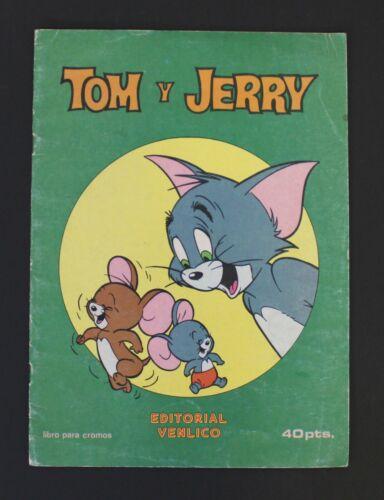 1983 TOM & JERRY vintage EMPTY ALBUM Import Spanish item Venlico publisher VHTF