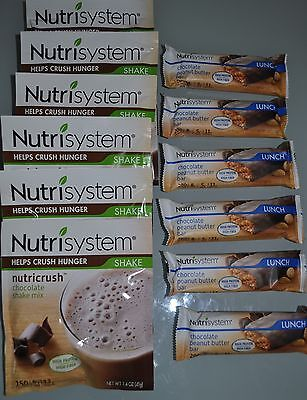 Lot Of 6 Nutrisystem Nutricrush Choose Your Own Shakes And Or Bars  19 99  21 99