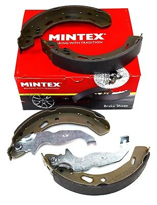 MINTEX REAR AXLE BRAKE SHOES SET FOR FORD FIESTA KA+ MFR581 (REAL IMAGE OF PART)