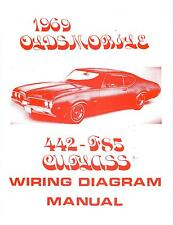 1969 69 OLDSMOBILE 4-4-2 /F85 WIRING DIAGRAM MANUAL | eBay