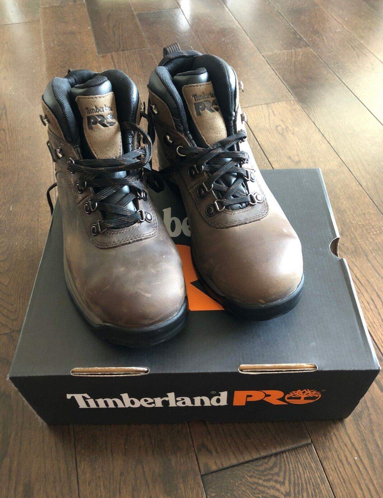 "Timberland PRO Men's Pitboss 6"" Steel-Toe Boot"