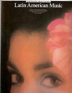 Home Organist Library Latin American Music Sheet Music Book Intermediate B85
