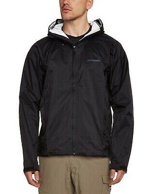 NEW Patagonia Mens Torrentshell Waterproof Breathable Rain Jacket Black Size XXL
