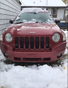 2007 Jeep Compass for sale *saftied*