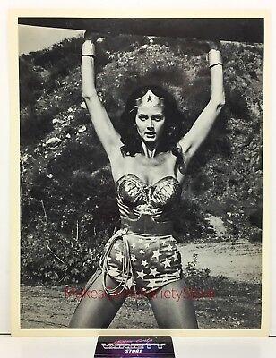 LYNDA CARTER ORIGINAL RARE VINTAGE 8x10 PHOTO 1977 WONDER WOMAN TV SHOW HEADSHOT