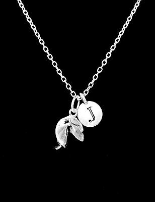 Fortune Cookie Initial Good Luck Best Friend Sister Mom Gift Charm