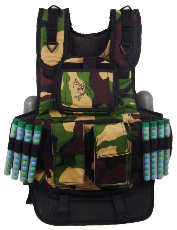 Maddog Tactical Paintball Vest Camo Milsim