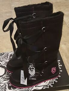 Size 8 metal mulisha new boots
