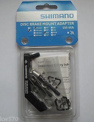 Shimano - Adaptador Trasero / Rear Adaptador Shimano SM-MA-R140 P/D B -...