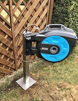 Pillar Holder for Gardena Hose Box Stainless Steel