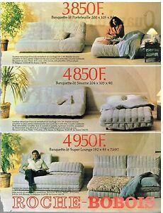 Publicit advertising 1981 les meubles mobilier canap s for Ebay canape roche bobois