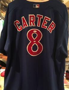 Chandail de GARY CARTER des expos signé autographié 2certificat