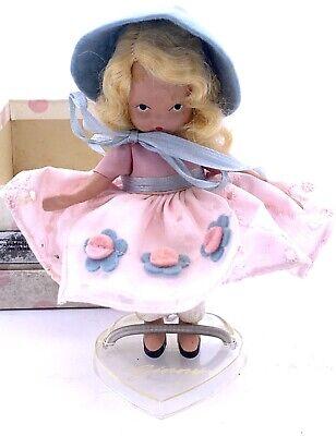 Vintage Nancy Ann Story Book MERRY LITTLE MAID Frozen Legs Box & Pamphlet