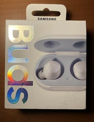 Samsung Galaxy Buds 100% Genuine RRP £140 White Wireless Bluetooth Ear Buds
