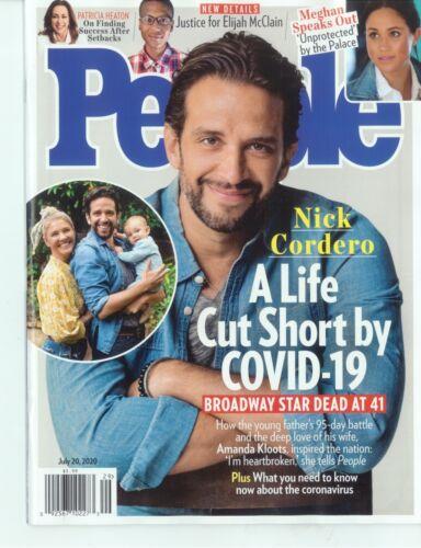 PEOPLE Weekly Magazine - JULY 20, 2020 -  NICK CORDERO