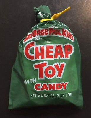 1986 Garbage Pail Kids Cheap Toys Unopened Bag-Pack, 1 Random Bag-Pack! TWT