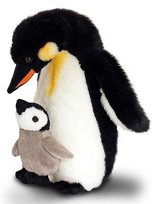 Plüschtier Kaiser Pinguin mit Baby Kuscheltier Keel Toys, Stofftier ca.30cm