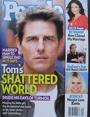 Tom Cruise July 2012 People Magazine Bethenny Frankel   Jessica Simpson