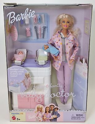 BARBIE HAPPY FAMILY BABY DOCTOR NRFB