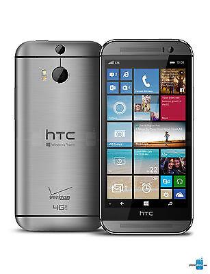 New Unlocked Verizon HTC One M8 GSM 4G LTE WORLD Windows SmartPhone PagePlus