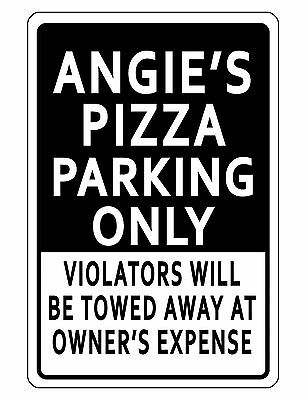 Personalized Business Parking Sign Durable Aluminum No Rust Custom Sign Bk016