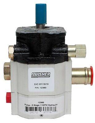 12360 - 11gpm Hydraulic 2 Stage Pump