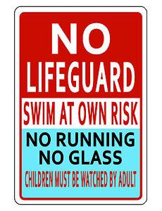 Swimming Pool Signs | eBay