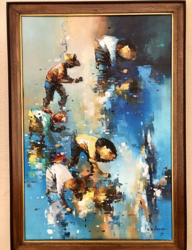 Original Painting From Filipino Painter Mike Herrera