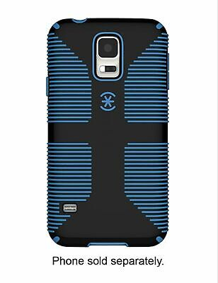 Speck Candyshell Grip With Faceplate Case Samsung Galaxy S5 Black Jay Blue