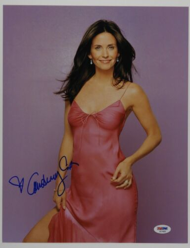 Courtney Cox Autograph Beckett 11 x 14 Signed Photo Friends