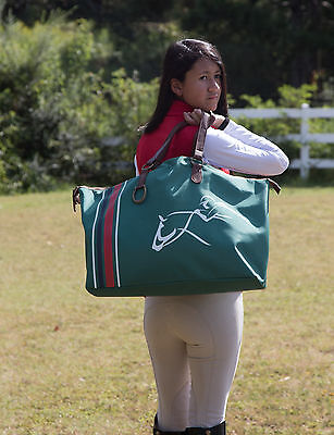 Weekender Tote Bag - Travel Bag - Gym Bag - Shopping Bag - Horse Show Bag