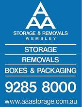 Storage  Removals Boxes and Packaging Perth WA Wembley Cambridge Area Preview