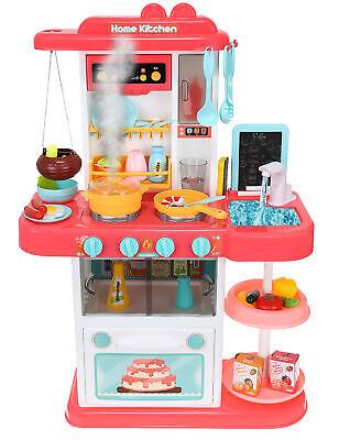 Spielküche Kinderküche Zubehör Funktion Wasserhahn Kaltdampf 43 Elemente 9567