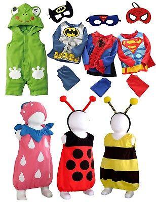 Kleinkind Kostüm Fasching Karneval Spiderman Batman Frosch Biene ()