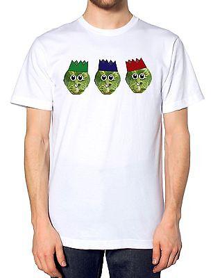 Sprout Cracker Hat T Shirt Funny Festive Top Christmas Dinner Present Idea Fart  ()