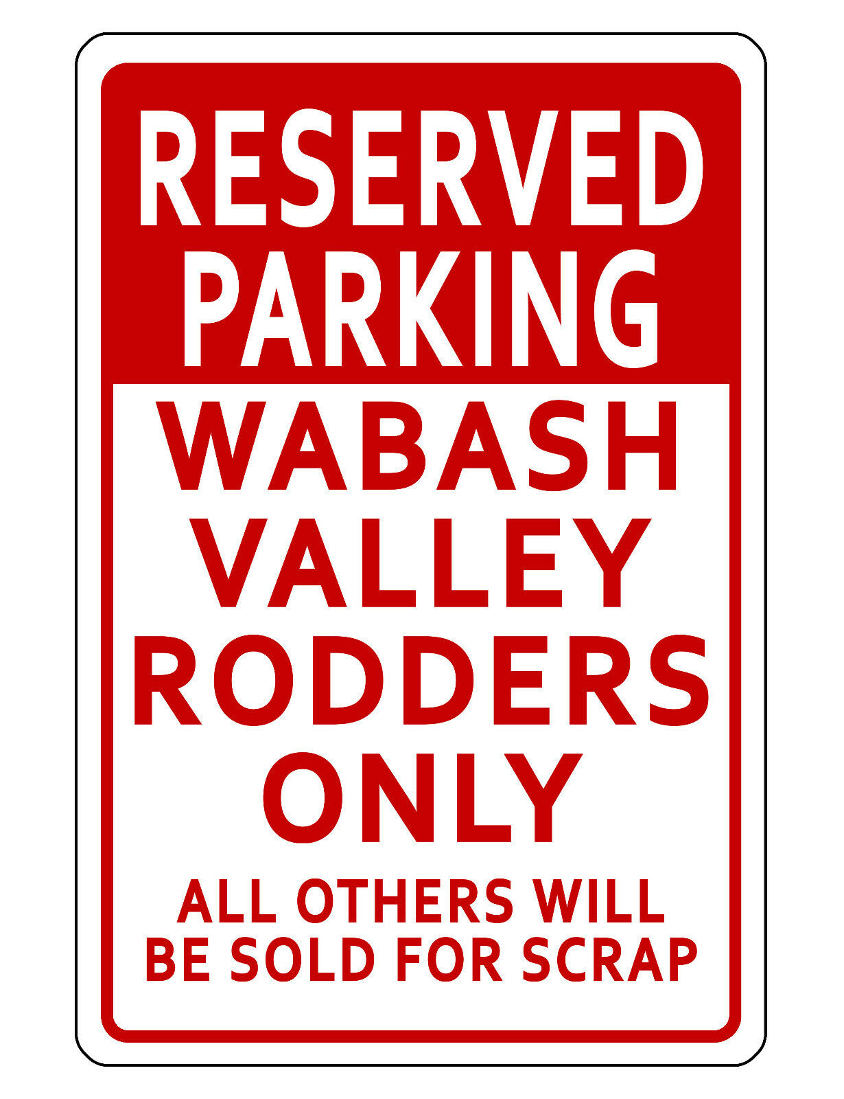 PERSONALISED PARKING SIGN YOUR NUMBER ONLY Metal Reserved Blue Warning Driveway