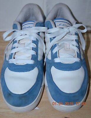 02d40e47c7e Reebok Men s S.Carter 9 Classic Low Elite Jay Z Blue Suede White HTH  Colorway