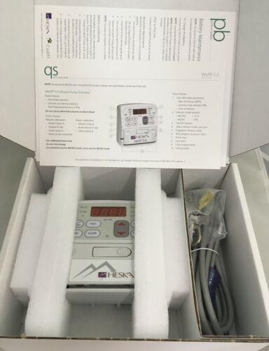 Brand New Heska Vet/IV 2.2 Pump, Calibrated to Baxter, 1 Year Warranty.