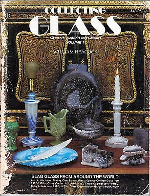 Collecting Glass-Research, Reprints & Reviews Volume 1 By William Heacock (Glasses Reviews)