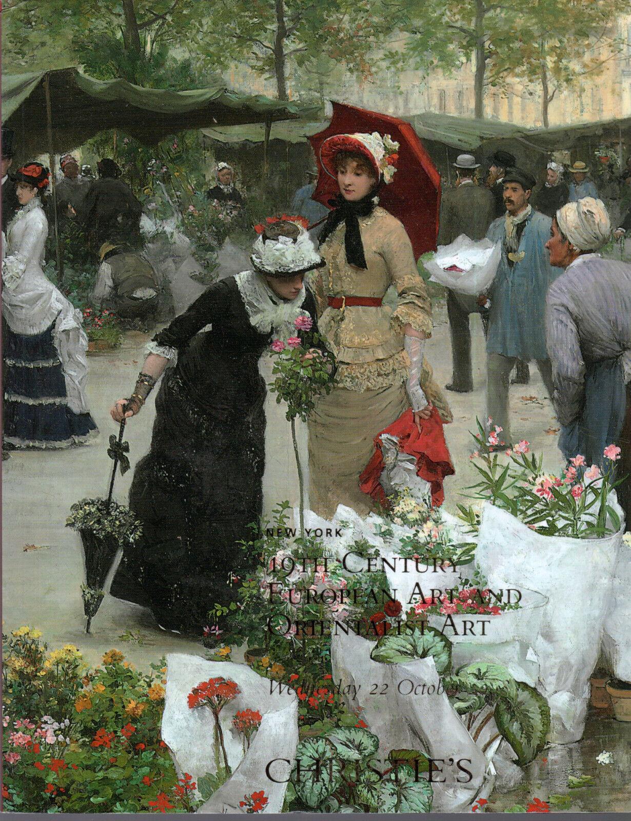 19th Century European Art  SOTHEBY'S 1996 Claus Elsley Stevens Bayard Bouguereau