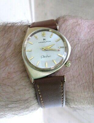 Vintage Hamilton Electric Savitar II Wristwatch - Serviced - New Contact