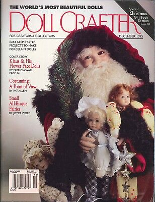 Doll Crafter Magazine Dec 1995 Victorian Ball Gown Pattern Costuming Automata
