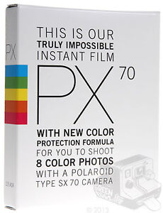 PX70 COLOUR PROTECTION FILM, FOR POLAROID SX-70 CAMERAS, IMPOSSIBLE PROJECT