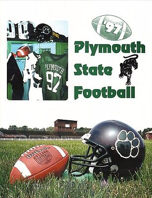 Plymouth State Panthers  1997 Football Media Guide
