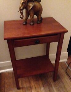 Telephone/Laptop Table with Drawer