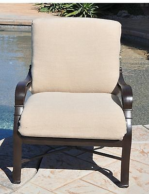 CushyChic Outdoor Slipcover for Deep Seat Patio Cushions in 7 Colors