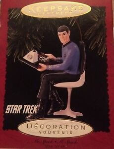 Star Trek tree ornament