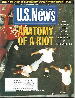 U S  News   World Report Magazine    May 31  1993   Anatomy Of A Riot